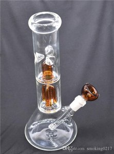 4-Arms Tree Perc 12 Inch Glass dab Big Bongs Water Pipes Beaker Bong Ice Catcher recycler bong With Diffused Downstem bowl 1pcs