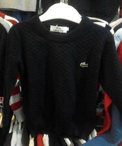 Nuevo suéter de diseño de alta calidad para niños, bebés, niños, suéteres de bordado de cocodrilo para niños de 2 a 8 años