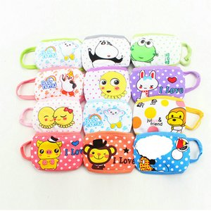 cute dust masks Fashion kids face mask cubrebocas tapabocas cloth face masks Childrens baby mask cartoon warm pure double dust mask zqMlq