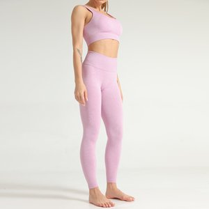 Vital Women Seamless Yoga Set Gym Clothing Fitness Leggings Cropped Shirts Sport Suit Women Long Sleeve Tracksuit Active Wear Yoga Sets