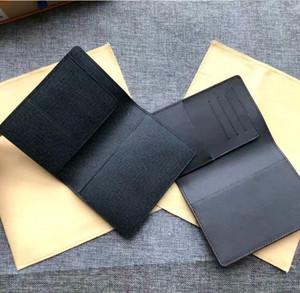 Высочайшее качество мужской паспорт держатель женщин кошелек цветок печатной карточки держатель реальные кожаные женские кошелек чехлы для паспортов с коробкой пыли