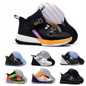 2020 nuevos Mens de LeBron soldado 13 para hombre zapatillas de baloncesto para la venta LeBrons xiii MVP de Navidad BHM Oreo jóvenes niños zapatillas de deporte de tamaño 40-46