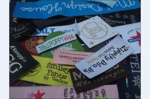 1000pcs tessute etichetta per abbigliamento etichette per abbigliamento cucire principali etichette per il ferro scarpe 1000pcs etichetta per lotto