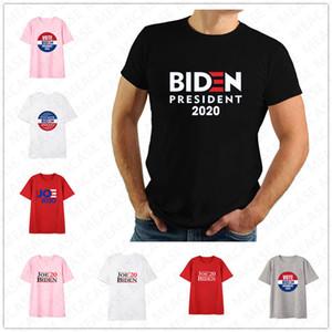 Kadınlar Erkekler Joe Biden 2020 Bize Seçim Mektupları Baskılı Tişört Unisex Yaz Üst Tees Yetişkin Günlük Spor Kısa Kollu shrit Tee D7209