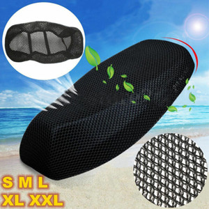 3D Motorcycle Electric Car Net Seat Cover Scooter Mesh Breathable Cushion Mat 1