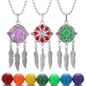 Новый Dreamcatcher Caller Neckalce Мексика Chime Bell Музыка Бал Медальон ожерелье год сбора винограда женщин Беременность ожерелье