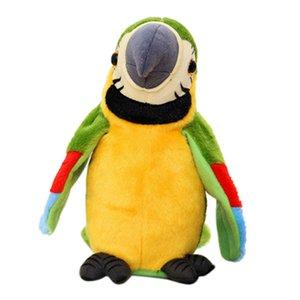 3x AAA Batterie lectric Talking Parrot Haustier-Plüsch-Spielzeug-Powered (nicht im Lieferumfang enthalten) Erfahren Nehmen Educational Parrot Stofftier sprechen