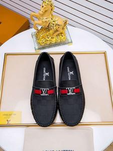 Causal orilla suave de moda casual y cómodos zapatos de cuero de moda Doug 021001