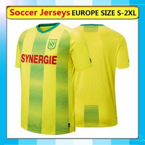 2019/20 FC Nantes jerseys de fútbol del hogar, 19-20 FC Nantes camisa de fútbol de 2019 2020 FC Nantes Sala camiseta de fútbol Correr jerseys