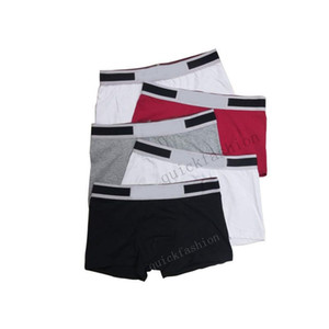 5 PC / pack Mens Ceuca Boxer-Unterwäsche Shorts für Mann Neuer Art und Weise Baumwolle reizvoller Unterwäsche-beiläufige Kurzschlüsse Breathable Male Homosexuell-Unterwäsche