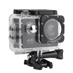 방수와 2 인치 4K HD 비디오 액션 카메라 케이스 휴대용 사냥 캠코더 야외 수상 스포츠 액션 카메라