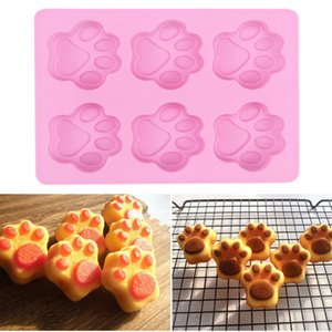 Cat Paw Silicone Baking Cake Mold Bakeware 1PC DIY Handmade Soap Silicone Mold