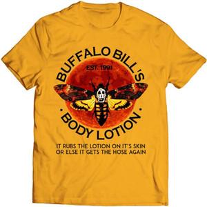 Loción Corporal camiseta divertida TSDFC horror Camisa de Buffalo Bill El silencio de los corderos divertidos del Hombre Mujer Unisex