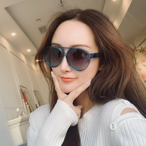 2020 Nouveau mode de Z1189E pop lunettes de lunettes de soleil concepteur chanson dames style simple casual lunettes de soleil haut pilote ovale qualité