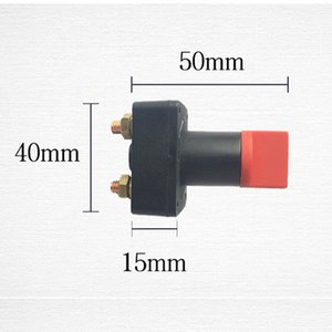 Electrical 100A Battery Isolator Switch Disconnect Power Cut Off Kill Switch 43*37*64mm For Bilge Pump Boat Car Truck