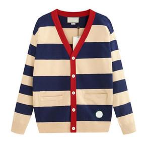 2020 suéteres de lujo del diseñador para Hombres Mujeres otoño chaqueta de punto de la marca Coats con letras de bordado hombre de la moda Suéteres Tops Ropa