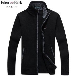 2020 Nuovo Maglione Uomini Eden Park Autunno Inverno SweaterCoats Maschio spessi Mens maglione giacche casual Zipper Maglieria formato M-3XL