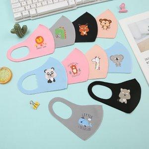 Gute Qualität neue entworfenen Anti-Pollution Anti-Staub-PM 2.5 Kind-Gesichtsmaske Baumwollnette Karikatur-Tier-Masken Schöne Muster für Kinder