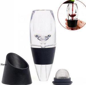 Filtre Vin rouge magique Decanter Aérateur Essential Vin rapide Aérateur Hopper vin Le jeu de filtre Équipement essentiel Bar KKA7731