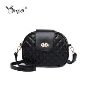 YBYT  2018New Fashion Women Crossbody Bags Ladies Diamond Lattice Luxury Bag Women Small Shoulder Messenger Bags Ladies Bag