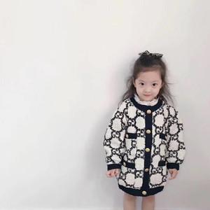 Fashion Girl Giacca spessore caldo giacca bambini autunno abbigliamento invernale bambini lungo per il bambino della tuta sportiva dei bambini delle Coat 90 ~ 150