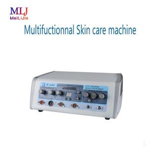 2019 Multifuctionnal Hautpflege Maschine mit Mitessern Saug- Ultraschall und Hochfrequenz-Gesichts-Hochfrequenz-violett ray
