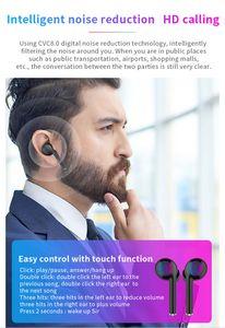 TW40 gemelos táctil de control inalámbrico del auricular de Bluetooth Wireless Headset auriculares Bluetooth 5.0 Para todos los teléfonos inteligentes