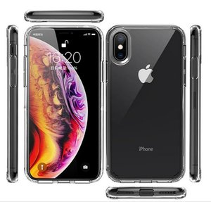 IN STOCK Acrylic Phone Case Clear TPU Soft Design Protective Cover For iphone 11 pro max xr xs 8 7 6 plus