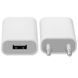 Белый Универсальный USB Power Adapter EU штепсельной вилки 5V AC Micro Usb зарядное устройство для телефона 5s 6s Для LG HTC телефона Adaptador Usb