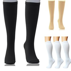 New Unisex Knee Stockings Compression Supports Edema Varicose Veins Tired Sport Sock