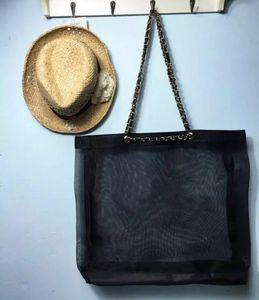 Vip hediye Moda C kadınların Geniş kapasiteli örgü alışveriş çantası bayanlar zincir çanta kadın çantası lüks model Depolama Kılıfı örgü