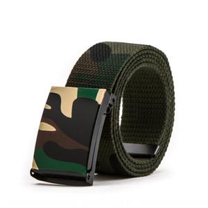 Camouflage printing Hip-Hop doodle fashion Canvas casual pants casual pants belt men and women couples canvas belt belt