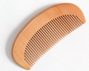 Traditional Natural Peach Wood Comb blank Wooden Comb Beard Comb Can Be Engraved You want