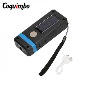 Mini COB Solar Work Light USB Rechargeable Magnetic Portable Lantern Solar Powered Lamp For Emergency Outdoor Camping Light