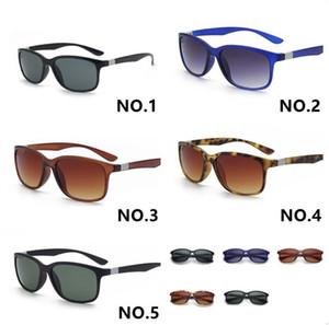 tfnny бренд дизайн унисекс классический старинные квадратные дизайнерские солнцезащитные очки 4215 поляризованные Occhiali Da Sole яркая черная рамка серый объектив 56 мм