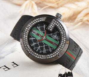 Luxo Quartz Militar Assista Top Quality best-seller Moda Unissex relógio dos homens Assista Design Agradável Relógio Rubber Estilo Casual