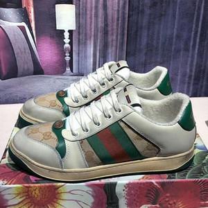 Gucci    luxe design font de vieilles chaussures de sale hiver 2019 nouveaux chaussures couple classiques chaussures de sport loisir chaussures de sport occasionnels plat CC1