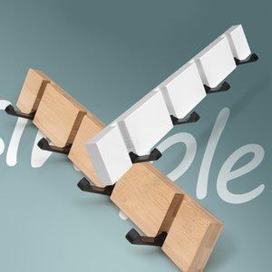 Porta in lega di zinco Nordic Art Dietro Hook Mensole domestica bagagli gratuito Punch semplice montaggio a parete a parete Appendiabiti decorazione domestica