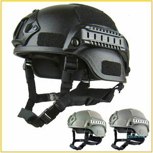 Qualité légère FAST Casque Airsoft MH tactique Casque extérieur tactique Painball CS SWAT Riding Protect Equipment FC01