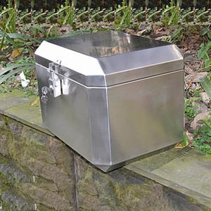 портативный ящик для инструментов из нержавеющей стали для домашнего хранения ящик для инструментов упаковочное оборудование транспортная коробка мотоцикл задняя задняя коробка багажник
