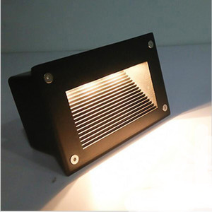 LED Treppenlicht 3W U-Lampen IP67 Deck Schritt paitio Einbau inground Lichter Boden Garten Landschaft Wand Außenbeleuchtung