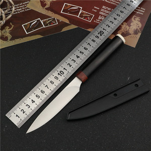 fixed blade straight knife outdoor camping utility knives hunting knifes survival keychain knife EDC Knife Tools