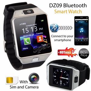 Evrensel DZ09 Akıllı Saatler SIM TF Kart Arama Taşınabilir Mikro SMS Perakende Paketi ile Anti-Kayıp Akıllı Bilezik Bileklik