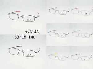 Lunettes de soleil mode montures OX3146 53 18 140 Lunettes montures Spectacle Optics Lunettes pour Hommes Femmes