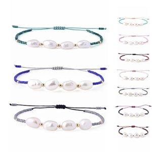 KELITCH Miyuki braccialetti dell'amicizia perle delle coperture in rilievo stringa braccialetti registrabili donne Handmade Strand Nuovo