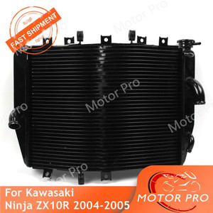 Motorbike Radiator For Ninja ZX10R 2004 2005 Cooling engine water cooler Accessories Aluminum ZX-10R ZX 10R 04 05