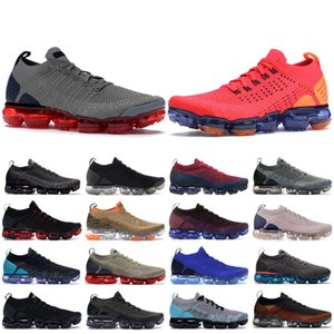 Triple Oreo Black Nike flyKnit 1.0 2.0 Scarpe da corsa Flagship BHM Red Orbit Grey Dusty Metallic Gold Scarpe firmate Sneakers Scarpe da ginnastica 36-45