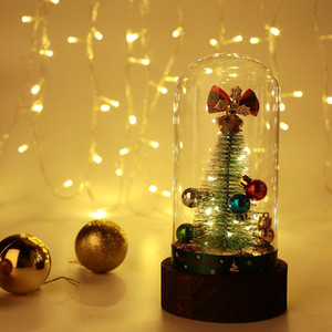 Arbre de Noël artificiel Creative Music Box Glass Gift Beautiful