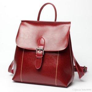 Progettare estate Vera pelle sacchetto dell'allievo nuovo modo di arrivo di stampa lo zaino scuola borsa zaino da viaggio unisex femminile ST ARK ZAINO