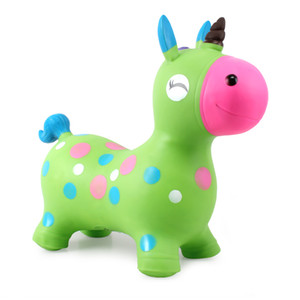 jumping horse kids inflatable toys jump animals Space Hopper Ride on Bouncy Animal Sports Toy Outdoor Fun Sports Toys